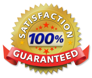 Security Alarms has a 100% Satisfaction Guarantee